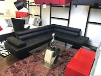 Black sectional  Hollywood, 33020