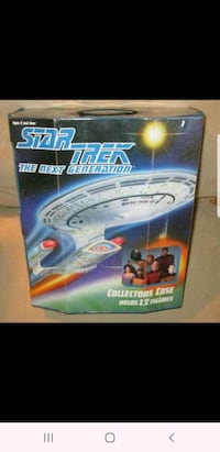 Star Trek The Next Generation Collectors Case for 12 Action Figures