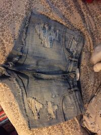 Ripped denim shirts SIZE-3 732 km