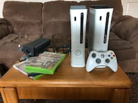 Two Xbox 360s, One controller, 4 games  Ephraim, 84627