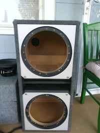 Custom 2 12in subwoofer box Colonial Heights, 23834