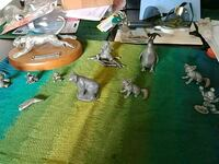 PEWTER ANIMAL COLLECTION