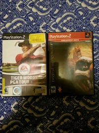 two Sony PS4 game cases Spokane Valley, 99037