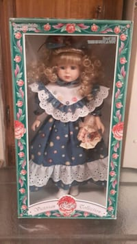 Victorian Rose Collection Porcelain Doll