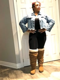 Y Project x Uggs size 7 thigh high boots of joy! Mississauga, L5V 2R3