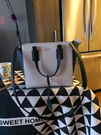black and lycra leather tote bag (kate spade) Redwood City, 94063
