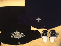 New Orleans t-shirts(2) and slippers Jamestown, 27282