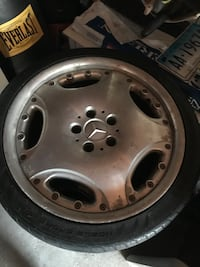 18in Mercedes Benz wheels. Best offer takes them