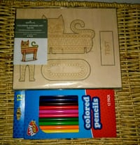 Crayola Wooden Cat