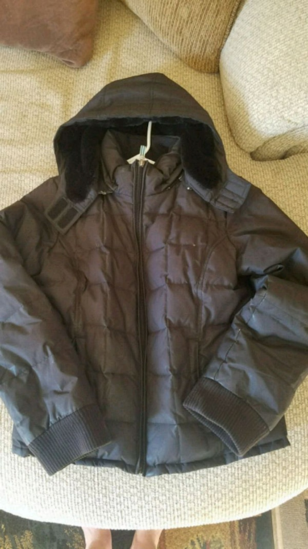 f56a282ad Used Old Navy warm winter coat with detachable hood for sale in ...
