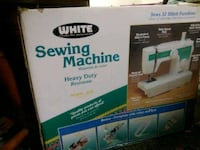 White sewing machine Knoxville, 37920