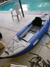Sea eagle inflatable kayak