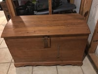 Handmade cedar chest. Rope handles   Spencerville, 20868