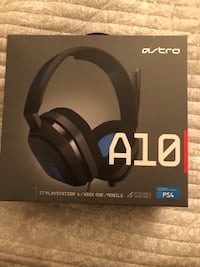 Astro A10 Headset For PS4 Pretty Much Brand New Only used a few times Cascade, 21719