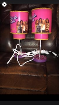 Cheetah girl lamps both for $25 Bowie, 20715