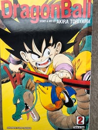 Dragon Ball Manga volume 2, three books in one Lovettsville, 20180