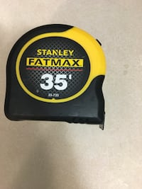 Fat max 35 foot brand new tape retails for 44$ plus taxes selling for 22$  Surrey, V3S 0T3