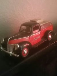 black and red car scale model 2169 mi