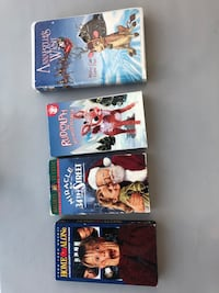 Christmas VHS Lot Woodbury, 55125