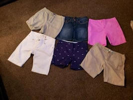 Ladies shorts all size 10 see description