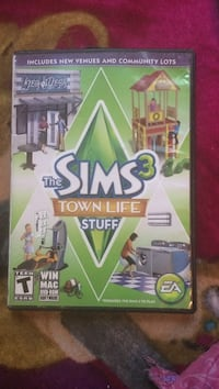 The Sims town life pc game