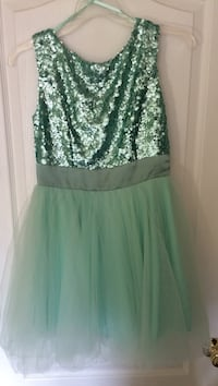 Mint green sequin/tulle dress Cambridge, N3H 3L1