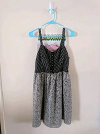 black and white polka dot spaghetti strap dress Glendale, 91206