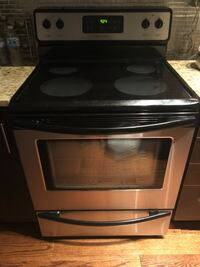 Frigidaire stainless steel set of 3 appliances (used)