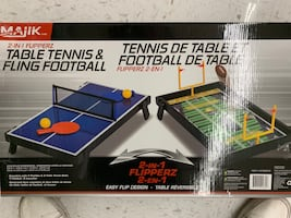 Ping pong/Football table 2 in 1