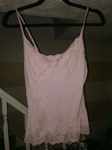 The Limited size medium pale pink tank