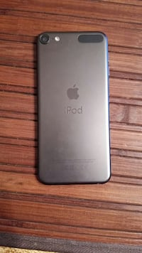 Space gray ipod 6