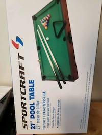 Mini pool table Hughesville