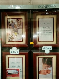 Old Town set of 4 solid wood picture frames St. Louis, 63122