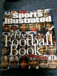 Sports Illustrated the football book Rockville Centre, 11570