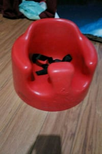 baby's red Bumbo floor seat Barrie, L4M 3L4