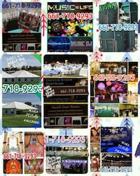 Decorating/Tents/Tables/Chairs/Toilets, and More! Lancaster, 93535