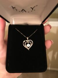 FLOATING HEART NECKLACE Turnersville