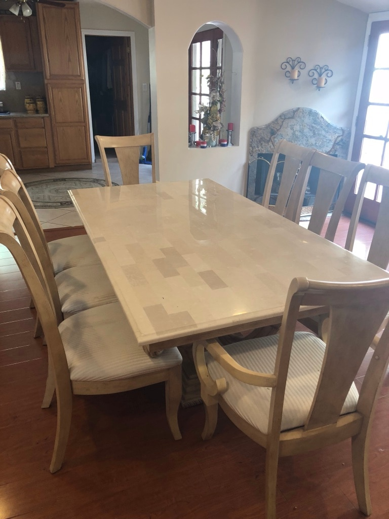 Used Dining Room Table And Chairs For Sale In Los Angeles   Letgo