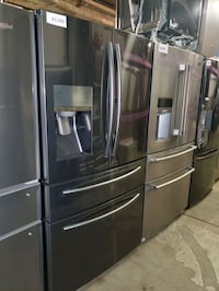 SAMSUNG 4-doors fridge NEW scratch and dent  Baltimore, 21223
