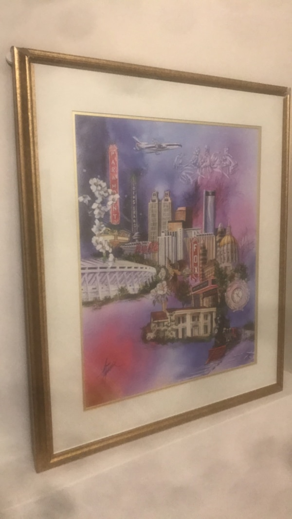 Anni Moller signed Painting 498/3000