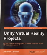 Unity virtual reality projects textbook London, N6A