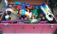 assorted-color plastic toy lot 43 km