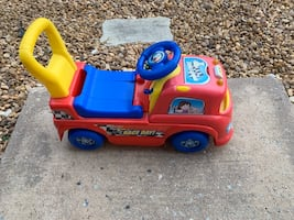 Push & ride child's ride-on truck-Great start to riding a bike / trike