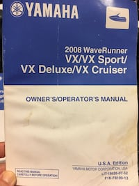 Yamaha Wave Runner Manual