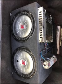 Kickers with Amp for sell  Lancaster, 93534