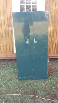 For sale large metal cabinet