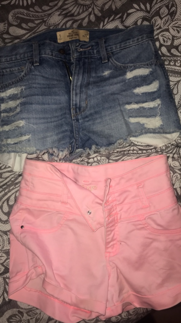 ab65c2ddbb Used Hollister size 5 - 15$ Charlotte Russe pink size 0 - 10$ for sale in  Dover - letgo