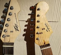 Peavey and Squier Cocoa, 32922