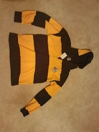 NEVER WORN Marquette Rugby Hoodie