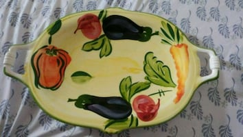 Beautiful Vintage Serving Tray
